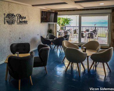 Instalación de FrontRest y Telecomandas en Playa de Camariñas por Vicon Sistemas