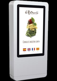 Pantallas interactivas para restaurantes de comida rápida en A Coruña